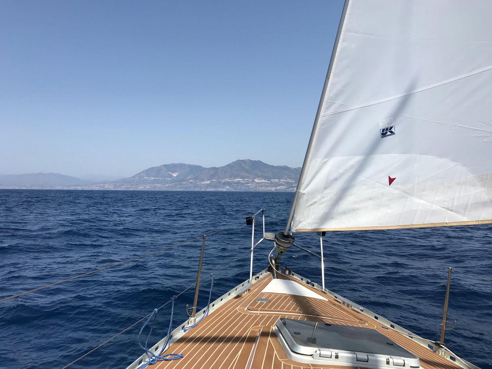 Imagen de Benalmádena desde un Barco